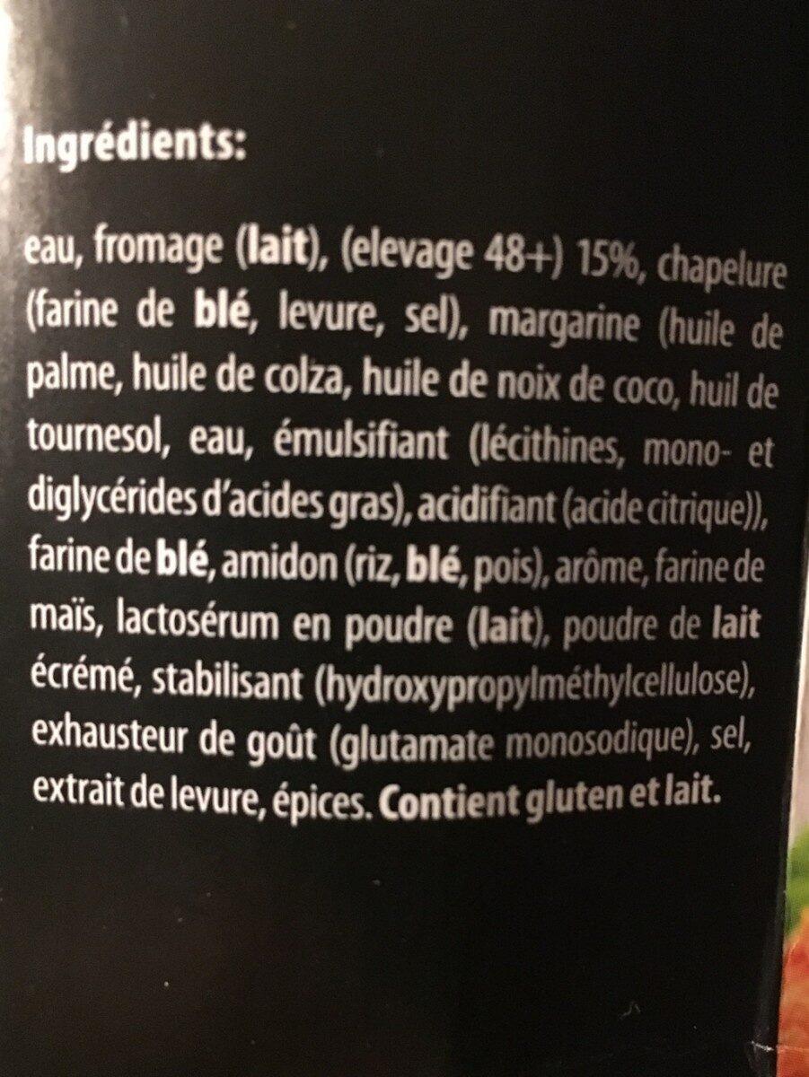 Croquette de fromage - Ingrediënten - fr
