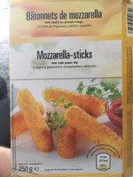 Bâtonnets de Mozzarella avec Sauce au Piment Rouge - Produit