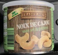 Noix de cajou, sans sel et grillées - Product