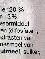 Picco Belli - Ingrediënten - nl
