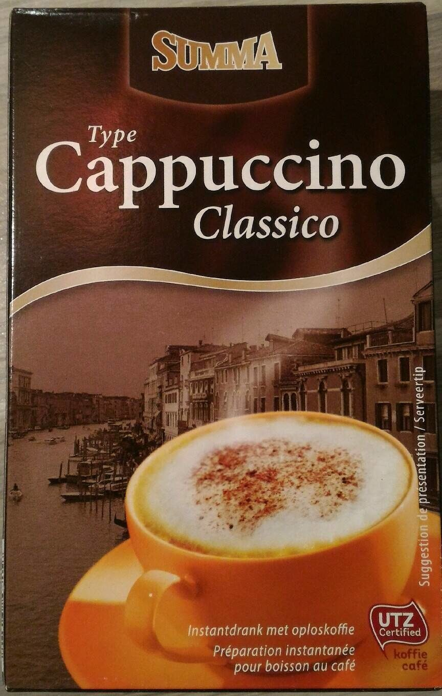 Type Cappuccino Classico - Product - fr