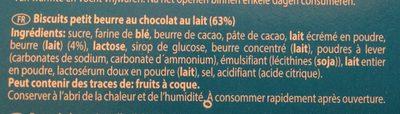 Choco duo - Ingrediënten - fr