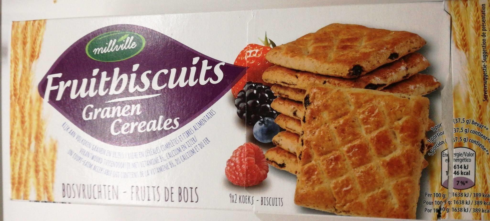 Fruitbiscuits céréales - Producto - fr
