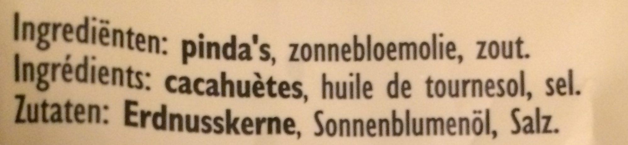 Peanuts - Ingrediënten - fr