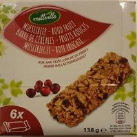 Barre de céréales - fruits rouge - Product - fr
