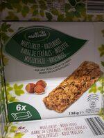 Barre cereale noisette - Product - fr