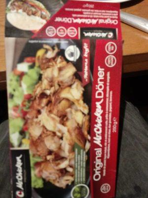 Viande de poulet façon kébab halal - Product - fr