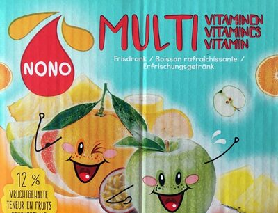 Nono multivitamines - Product - fr