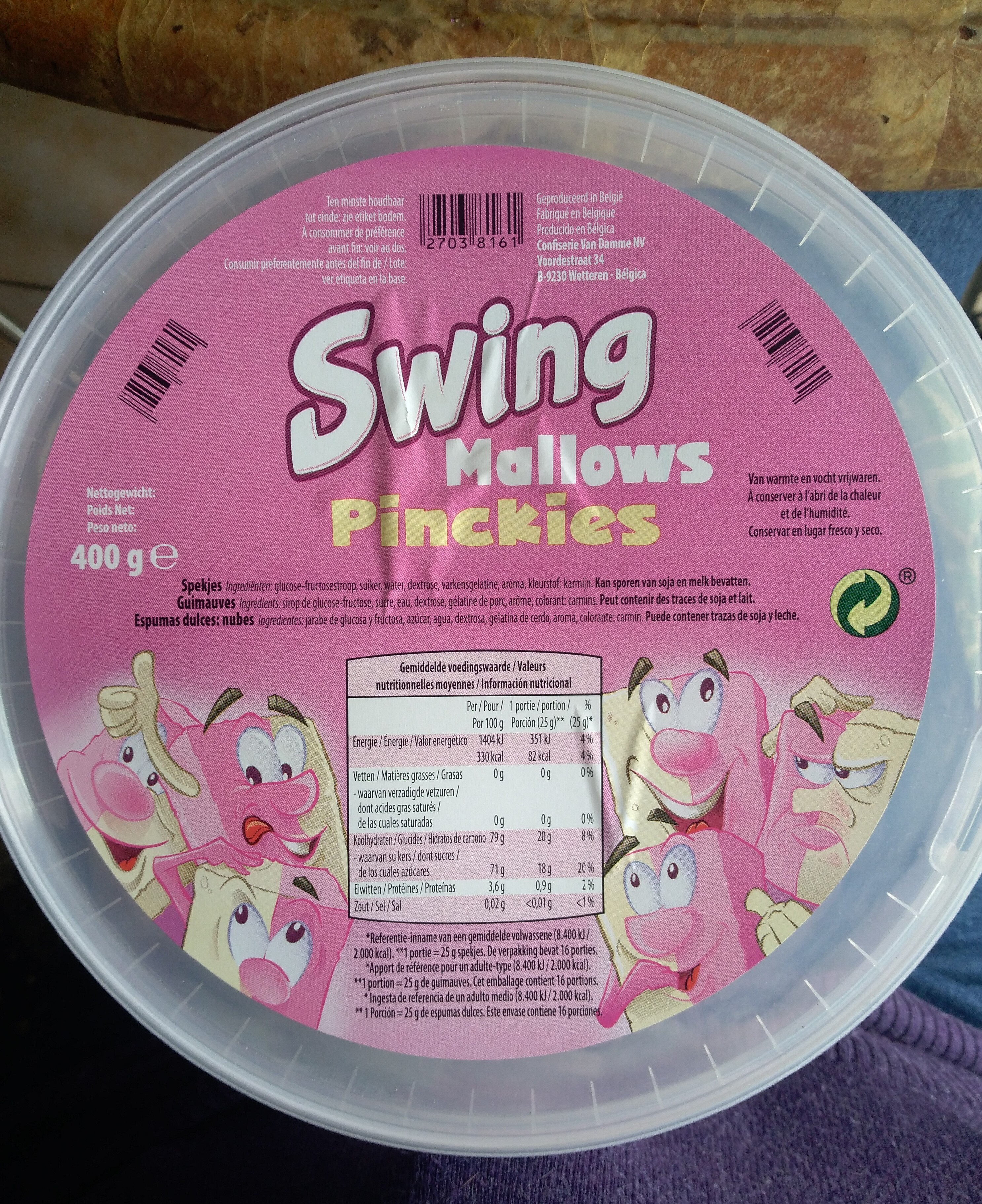 Swing Mallows Pinckies - Product - fr