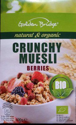 Crunchy Muesli Chocolate bio - Produit