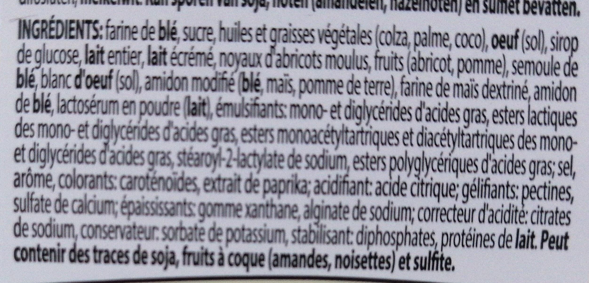 Frangipane - Ingrediënten - fr