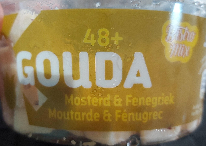 Gouda Moutarde et Fénugrec - Produit - fr