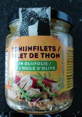 Filet de thon à l huile d olive - Produit - fr