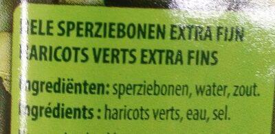 Haricot vert - Crown - Ingrediënten - fr