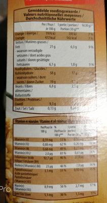 Choco Crunchy - Voedingswaarden - fr