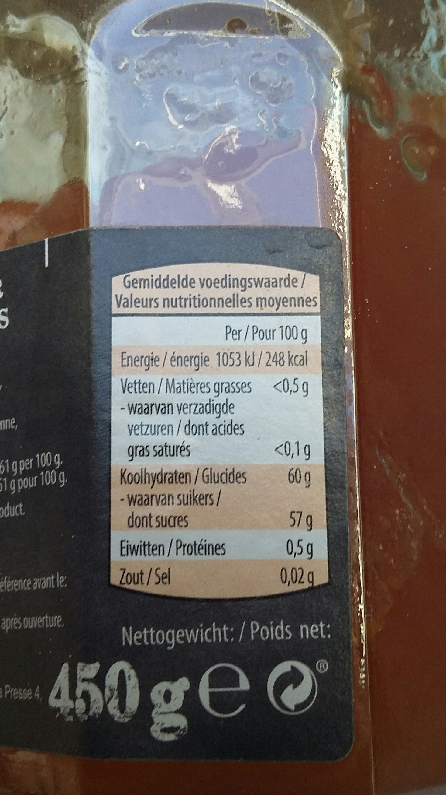 Abricots - Nutrition facts