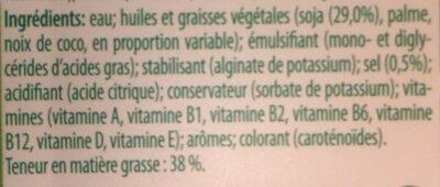 Soy Pro - Ingrediënten - fr