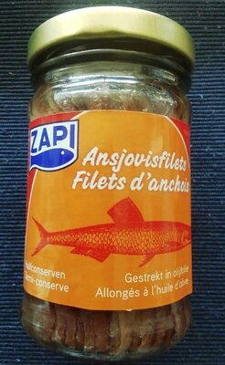 Filets d'Anchoix à l'huile d'olive - Produit - fr