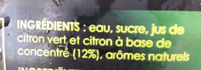 Mojito - Ingrediënten - fr