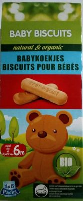 Baby biscuits - Product - fr