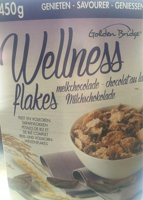 Wellness flakes chocolat au lait - Product