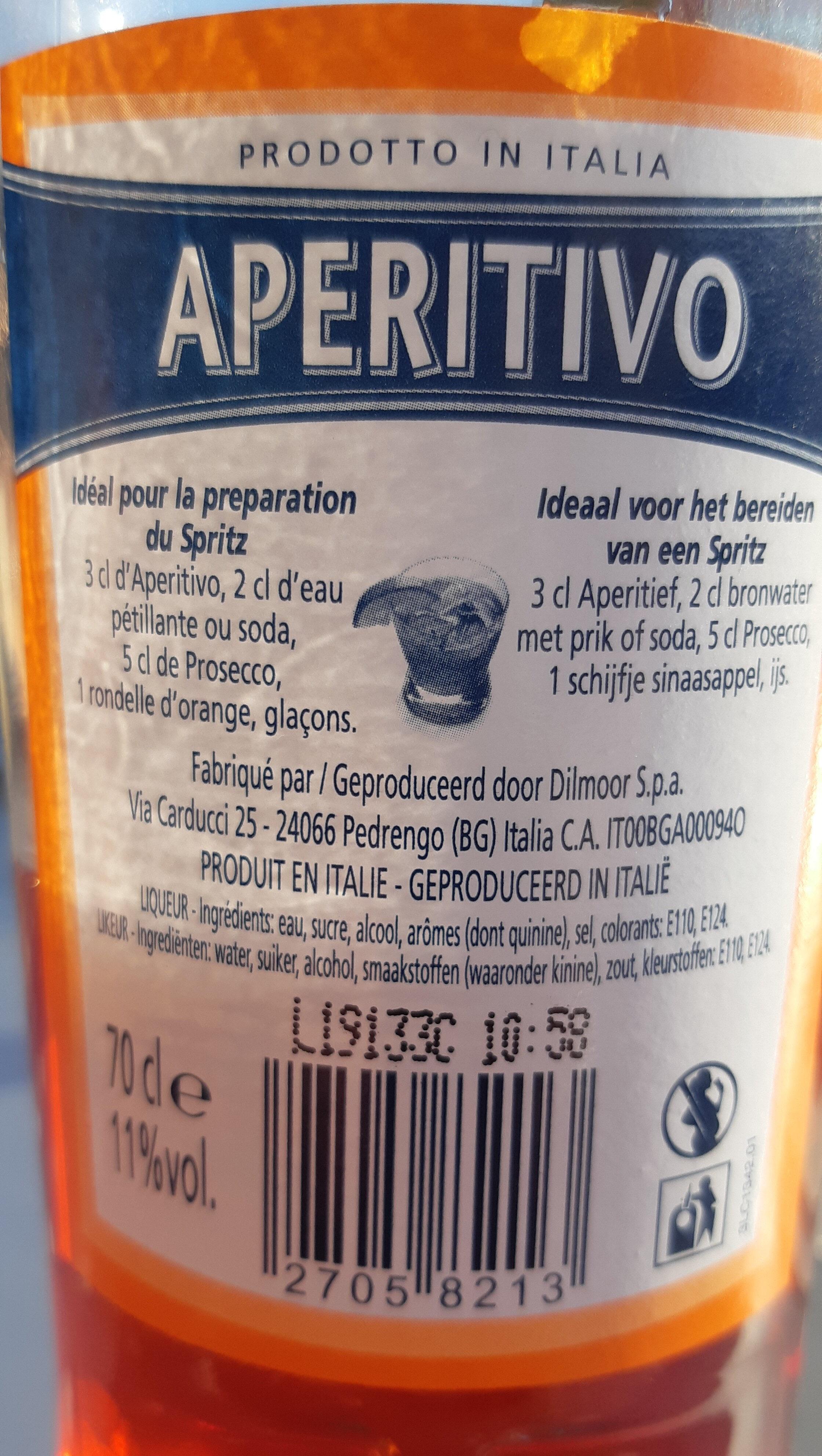 APERITIVO - Product