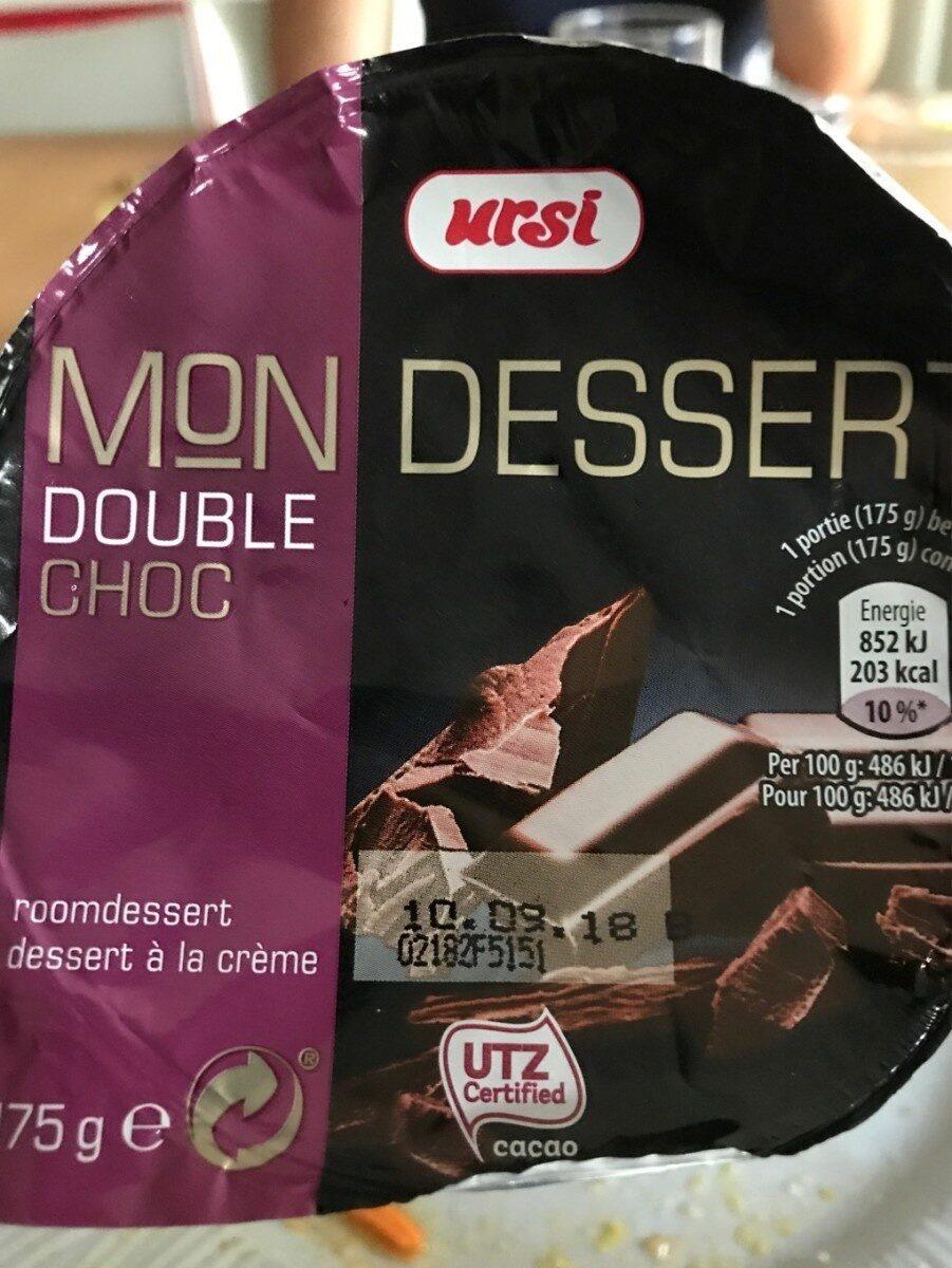 Mon Dessert Double Choc - Produit - fr