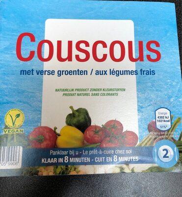 Couscous aux legumes frais - Product - fr