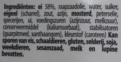 Salade de céleri - carottes - Ingrediënten