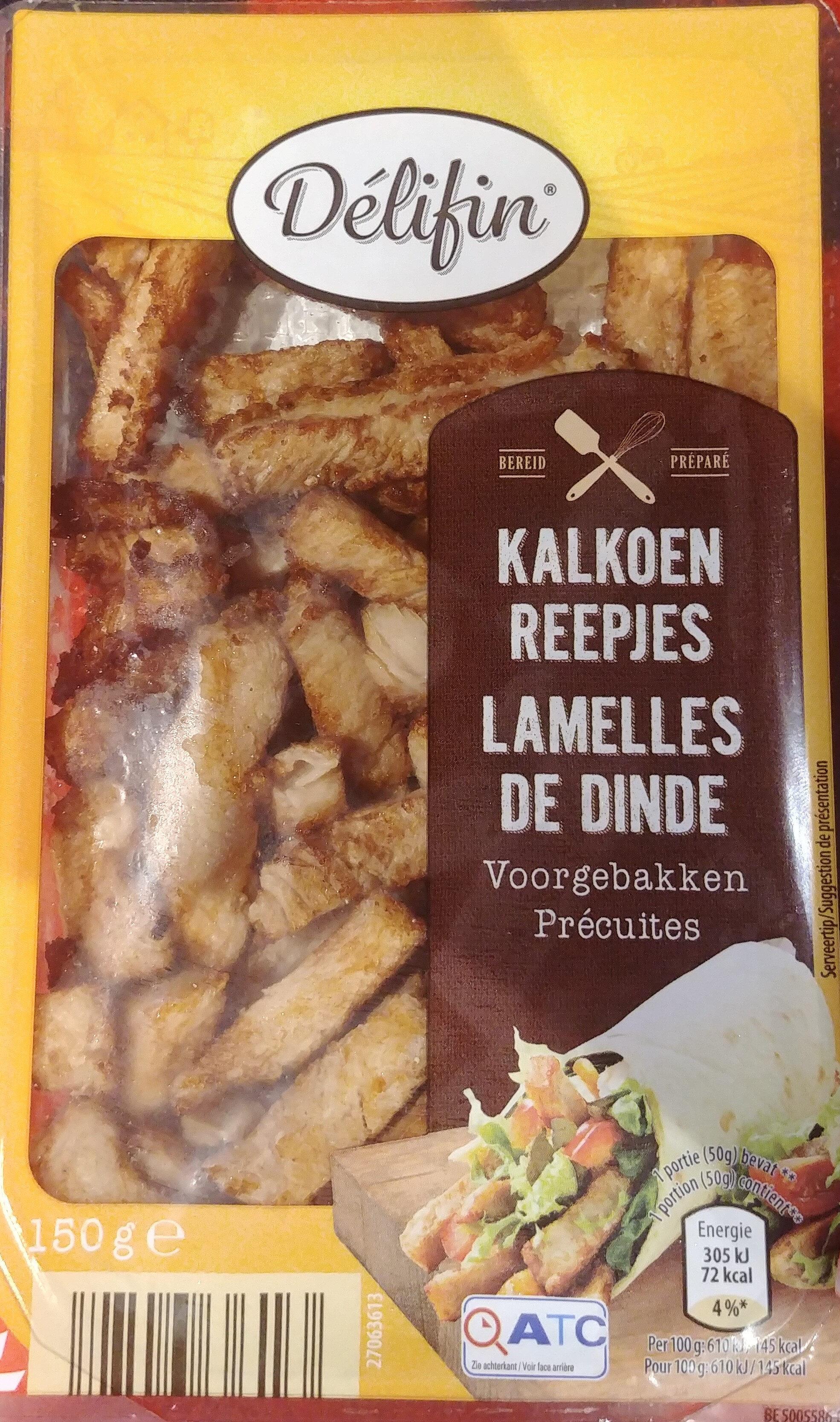 Lamelles poulet précuites Aldi Delifin - Produit - fr