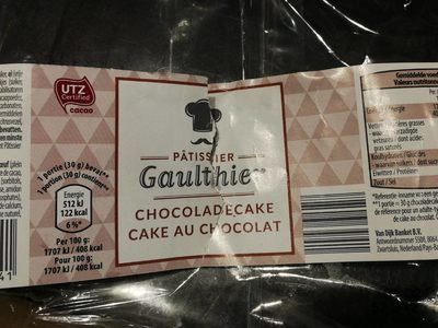 Cake nature - Produit
