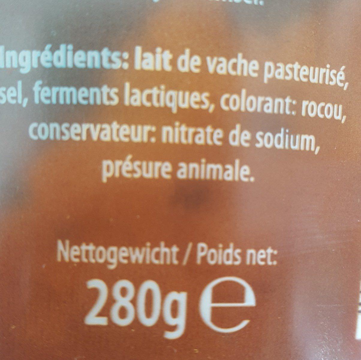 Gouda - Ingrédients - fr