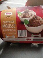 Chocolade mousse au chocolat - Voedingswaarden - fr