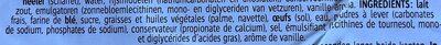 Crêpes au lait frais - Ingrédients - fr