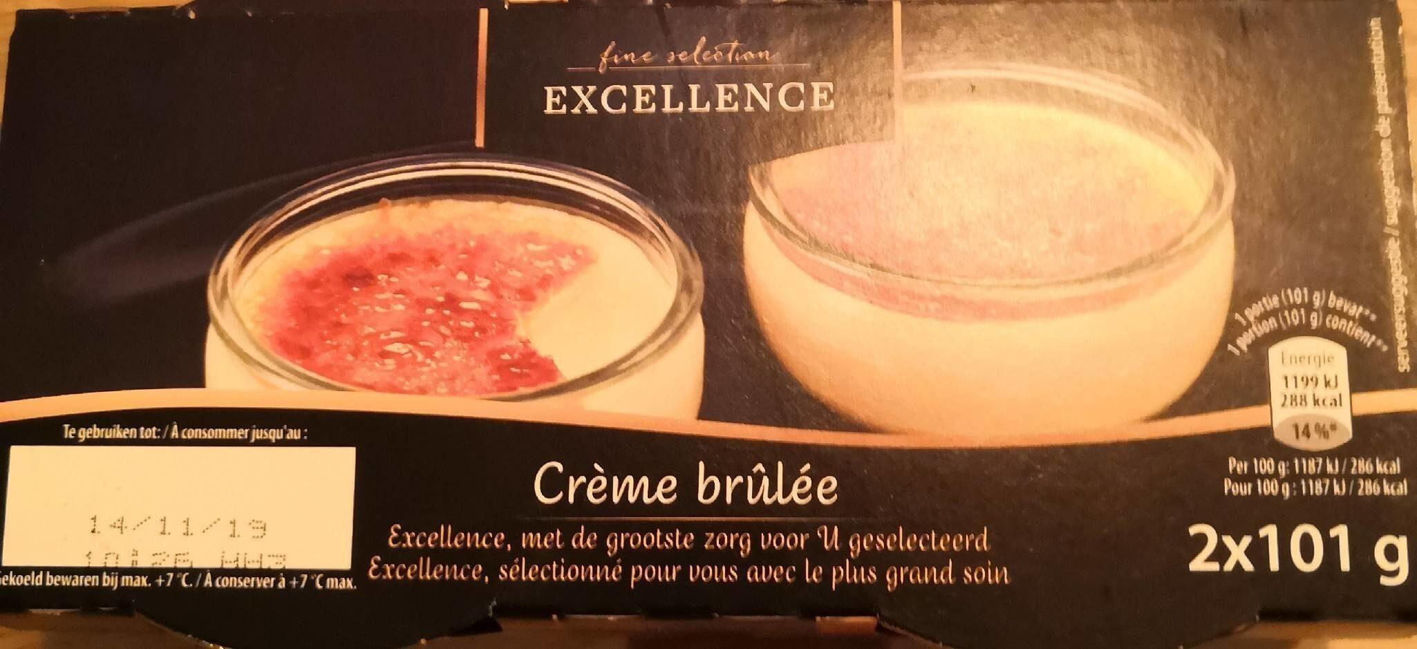 Crème brûlée - Voedingswaarden - fr