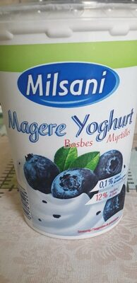 yaourt maigre myrtille - Produit