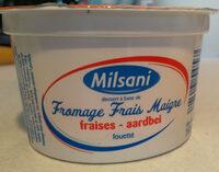 Fromage Frais Maigre fraises - Produit