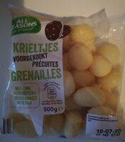 Les Grenailles - Voedingswaarden - fr
