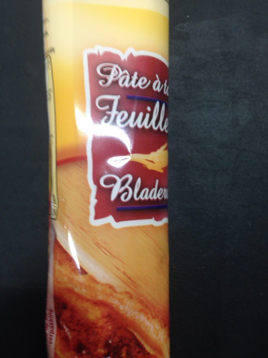 Pate a tarte feuilletee - Product - fr