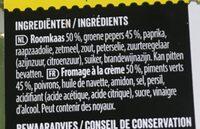 Antipasti - Ingrédients - fr