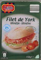 Filet de York - Produit - fr