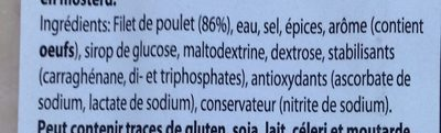 Filet de poulet - Ingrédients - fr