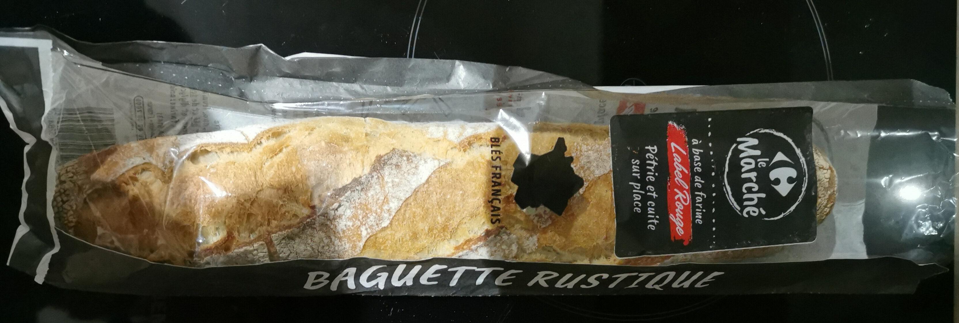 baguette rustique label rouge - Prodotto - fr