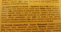 Gaufres croquantes au chocolat - Ingrediënten