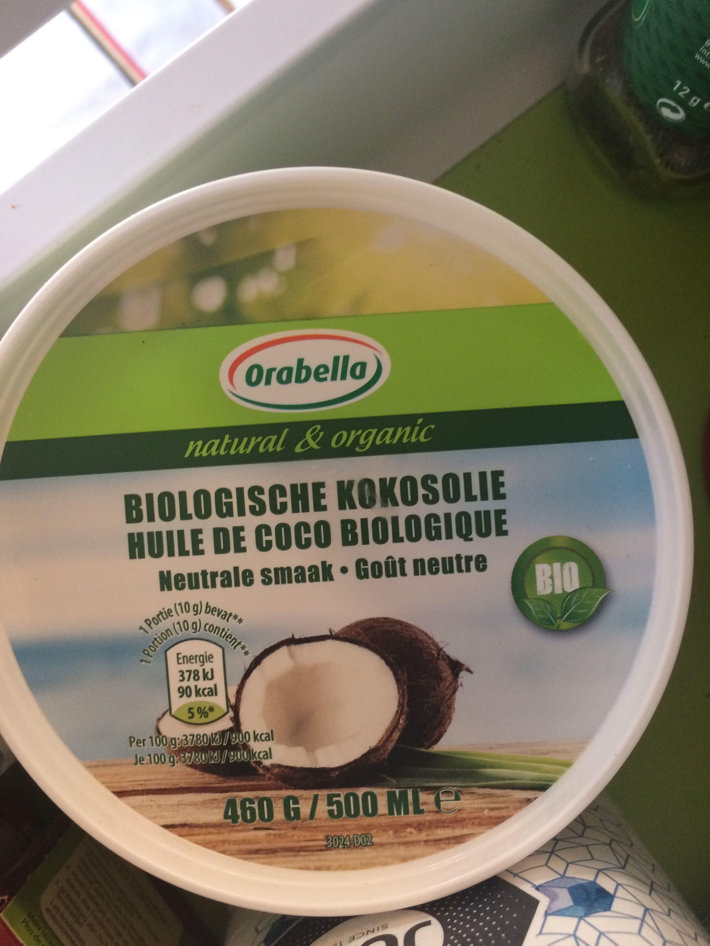 Huile coco biologique - Product