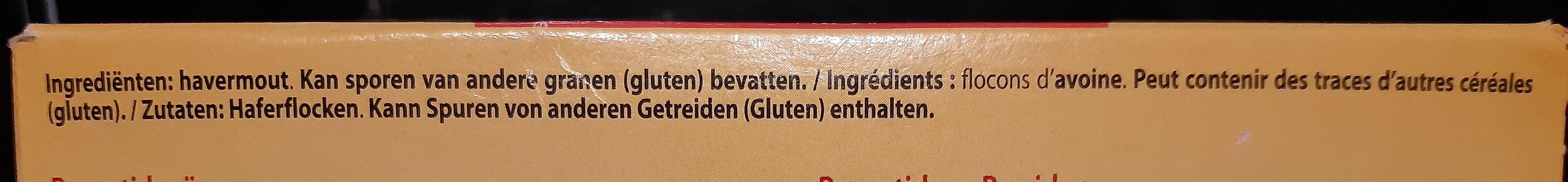 Flocons d'avoine - Zutaten - de