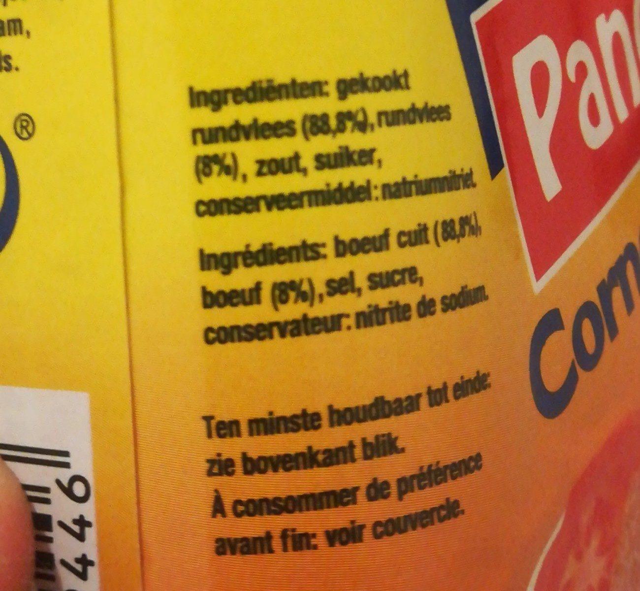 Corned Beef - Ingrediënten