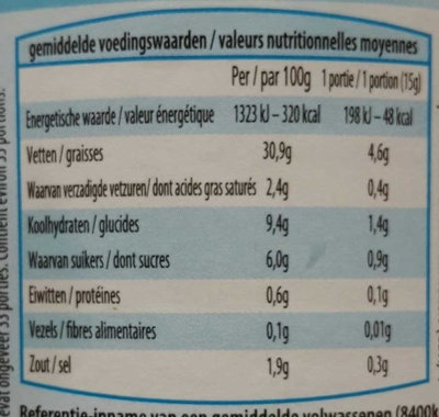 Light - Nutrition facts