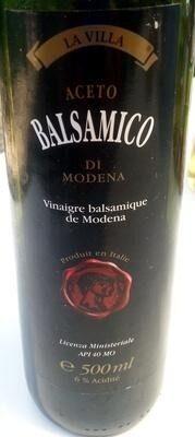 Aceto balsamico di Modena - Produit - fr