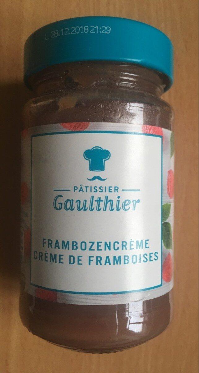 Crème de framboises - Product